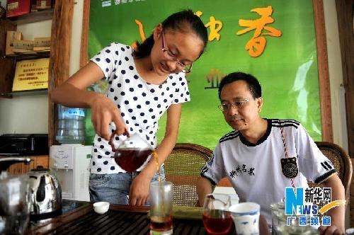 """广西融水:""""野生红茶树""""茶叶飘香海内外"""