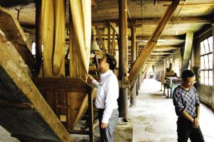 湄潭红茶制茶生产线至今已逾70岁