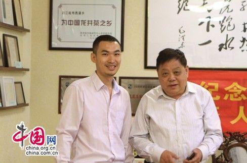 杭州真丝绸将为西湖龙井做身份证