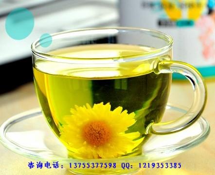 高山菊花,高山绿茶