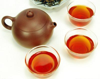荷叶普洱茶的喝法