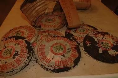 98年中茶生普洱茶青饼