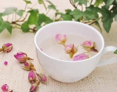 月季花茶和玫瑰花茶