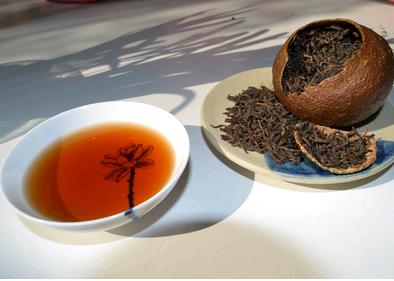 桔普洱茶的好处