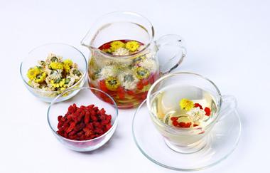 红枣枸杞玫瑰花茶的功效