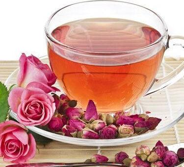 玫瑰花茶的功效