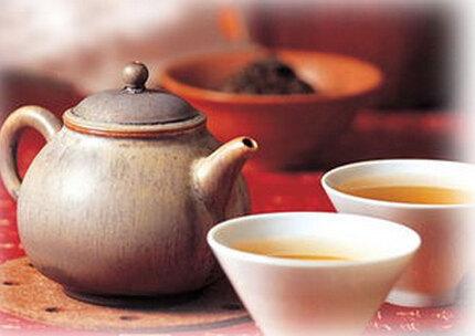 泾渭茯茶和普洱茶