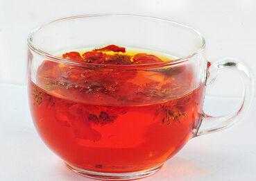 红菊花茶的功效