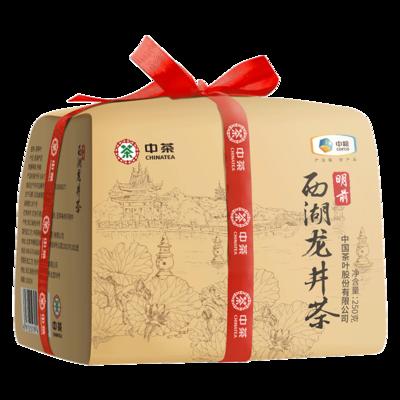 中茶绿茶 2020年新茶正宗明前特级西湖龙井绿茶散茶250g 中粮茶叶