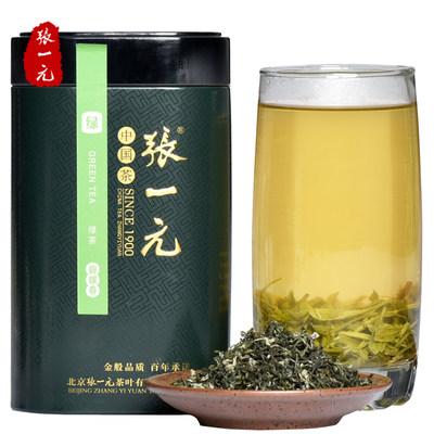 张一元茶叶碧螺春绿茶早春碧螺春春茶新茶罐装茶叶100g
