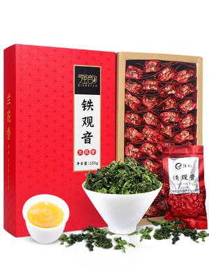 新茶安溪铁观音茶叶浓香型兰花香散装礼盒装乌龙茶小包装500g