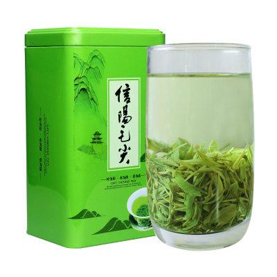 静溪毛尖茶叶信阳毛尖2020新茶雨前散装春茶高山绿茶浓香型500g