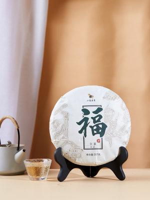 八马 | 白茶福鼎白茶太姥山寿眉一年茶饼装自饮357克