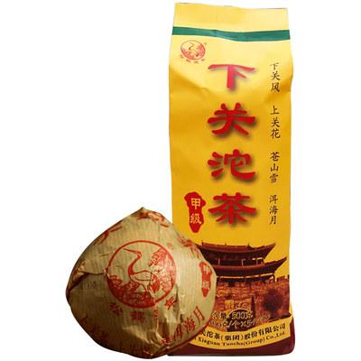 云南普洱茶生茶 2020年下关沱茶新甲沱袋装500g 常规口粮茶叶